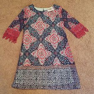 Rare Editions crochet dress